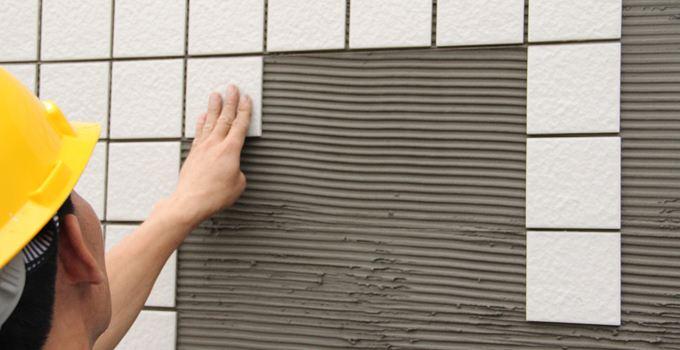 瓷砖胶铺贴